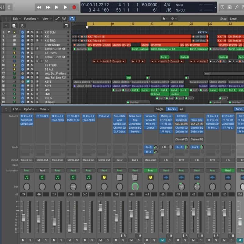 World-Class Logic Pro X Courses in London's Best Music School
