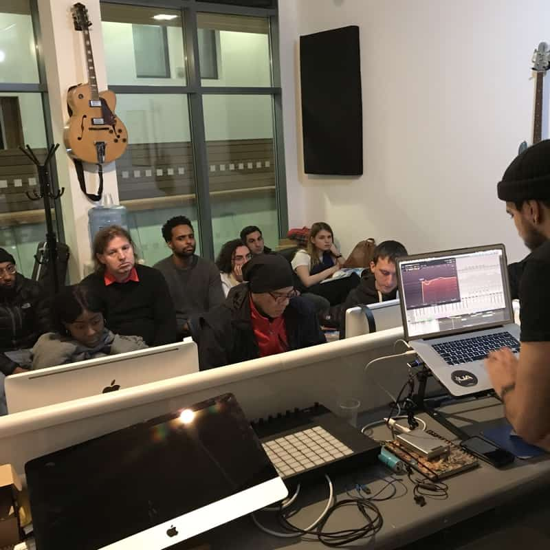 Music production open house London 800