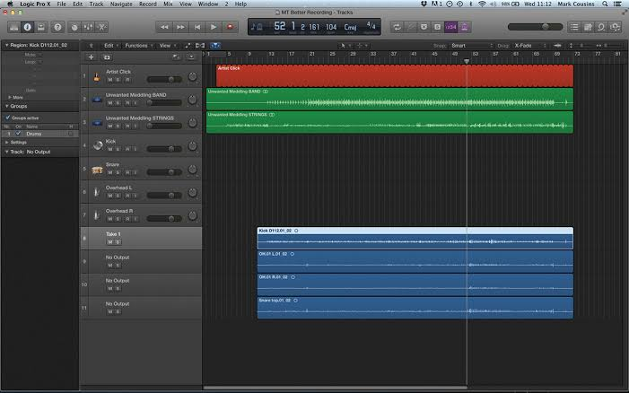 Logic Pro Workflow Tips
