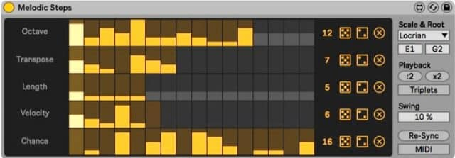 Melodic Steps Ableton Creative Extensions