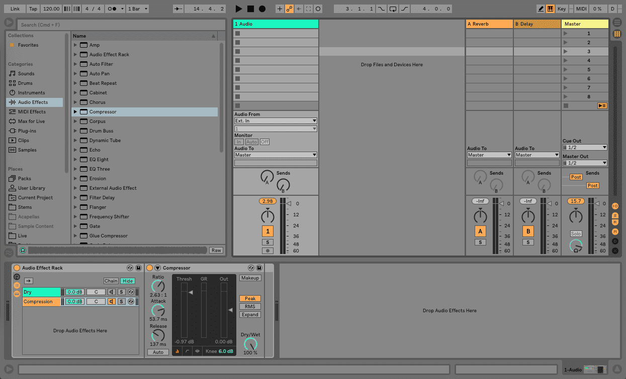 NYC Compression Parallel Compression Ableton Live